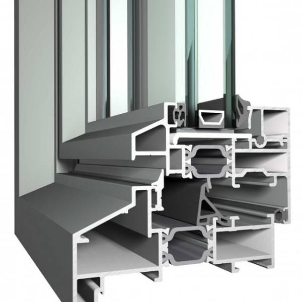 Aluminium Door SL 38 Slim Line