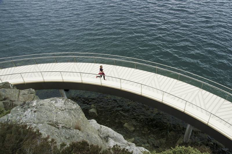 Accoya paves the way with spectacular walkway in Norway