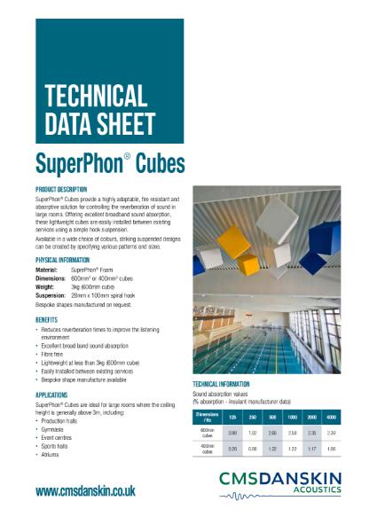 SuperPhon Cubes
