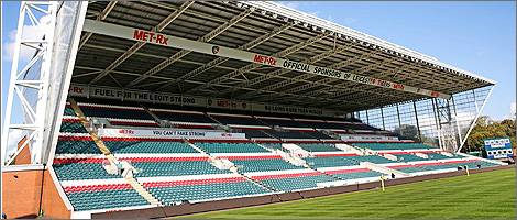 Leicester Tigers Stadium Welford Road - Leicester