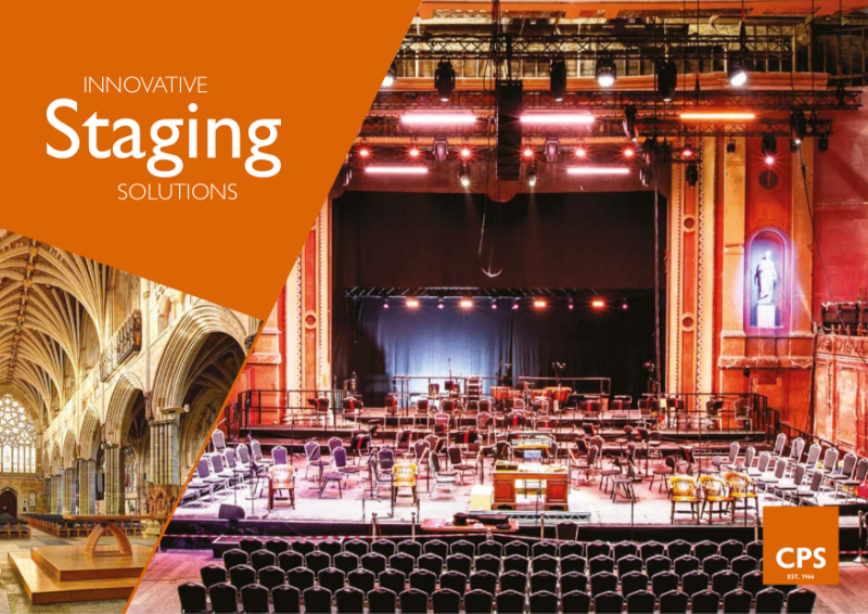 CPS Innovative School and Church Staging Solutions Brochure