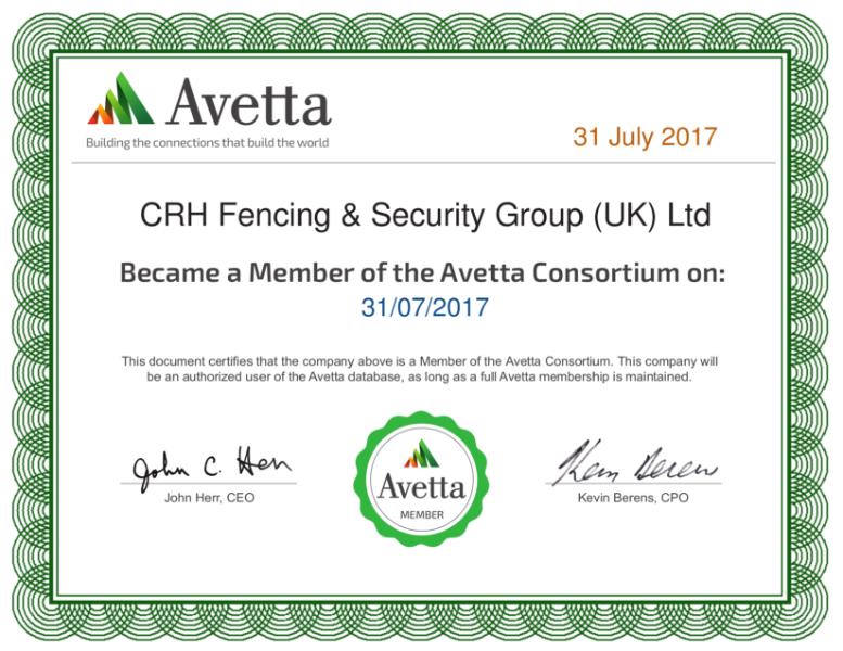 Avetta membership