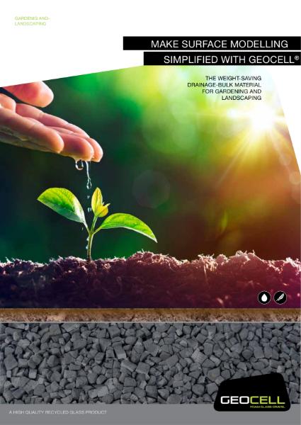 4. Foam Glass in Landscaping