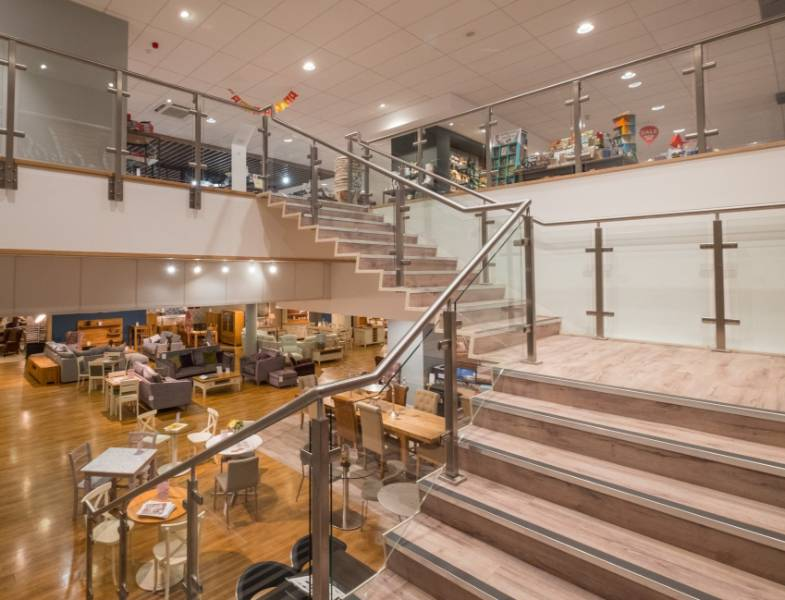 Neaco handrails and balustrade featured at award-winning scheme