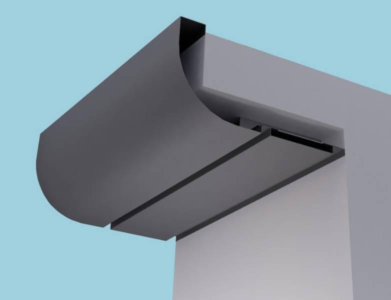 Quadrant Eaves Systems: Fascia Soffit & optional Hidden Gutter