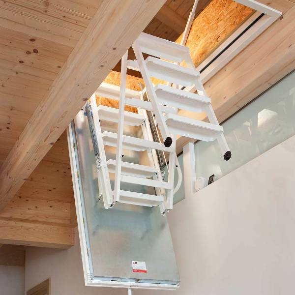 Isotec fire rated loft ladder NBS specification now available