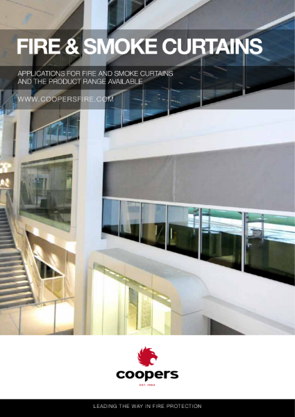 Brochure for Fire and Smoke Curtain applications and the product range available