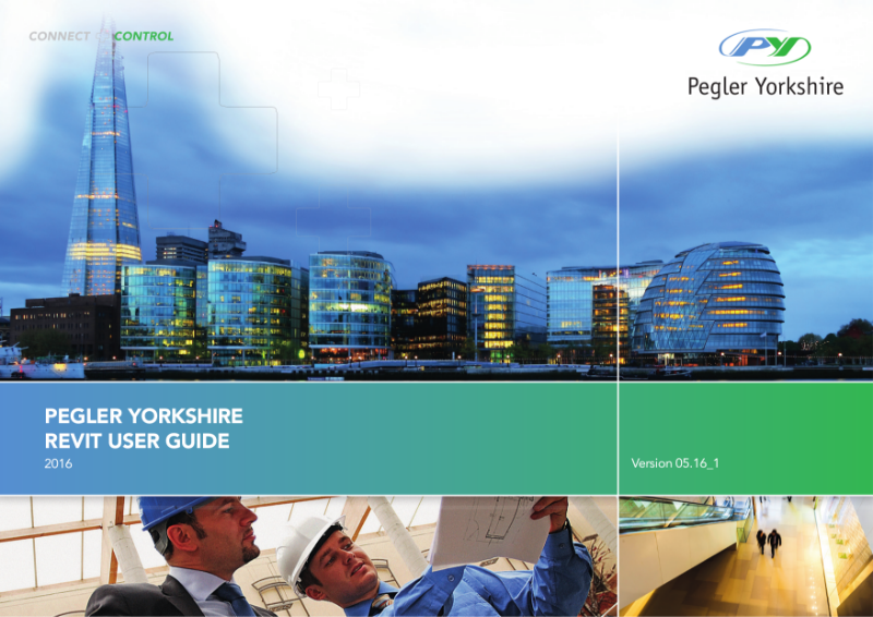 PEGLER YORKSHIRE REVIT USER GUIDE