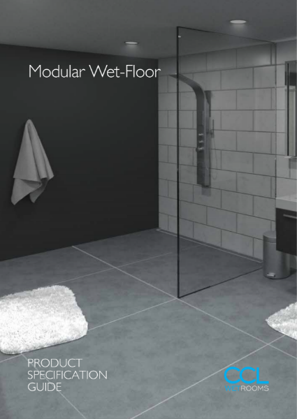 Wet Rooms - Modular Wet-Floor