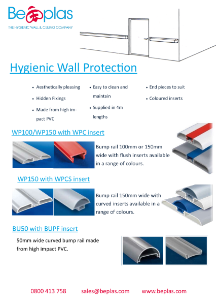Bump Rails and Wall Protection