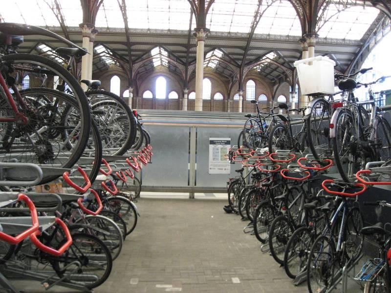 Josta 2-tier racks for Network Rail