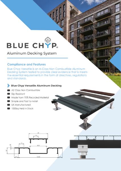 Versatile 150 and 205 Aluminium Decking Tech Sheet