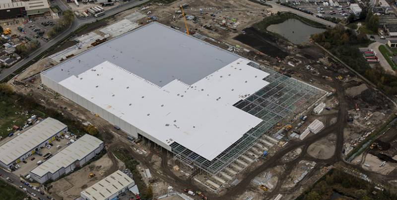 IKO Armourplan - collaboration completes roof to £185m project in four months