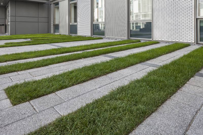 Piatto paving brings granite look to Deaconess House