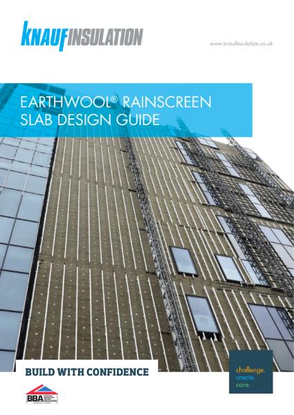Knauf Insulation RainScreen Slab - Design Guide