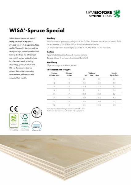 WISA-Spruce Special