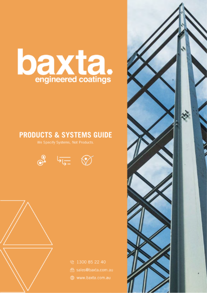 Products & Systems Guide - Baxta Engineering Coatings