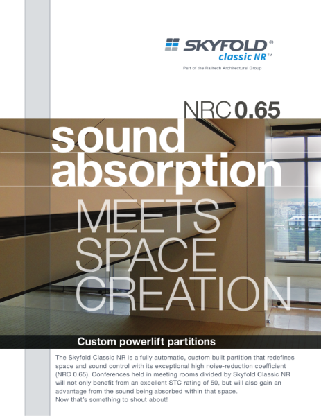 Skyfold Classic NR - noise reduction