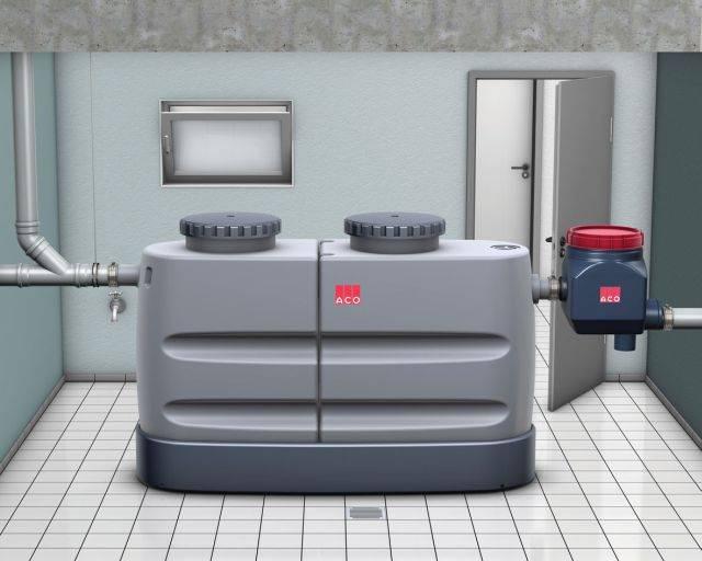 ACO Ecojet Free Standing Grease Separators