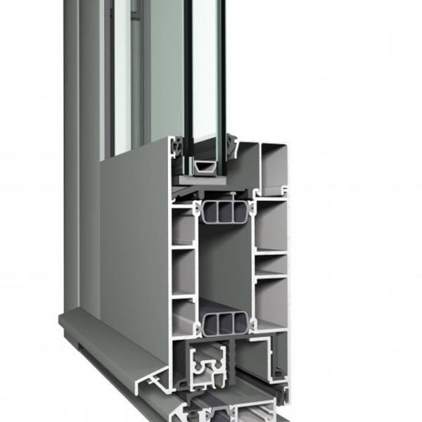 Aluminium Door CS 77 Concept System