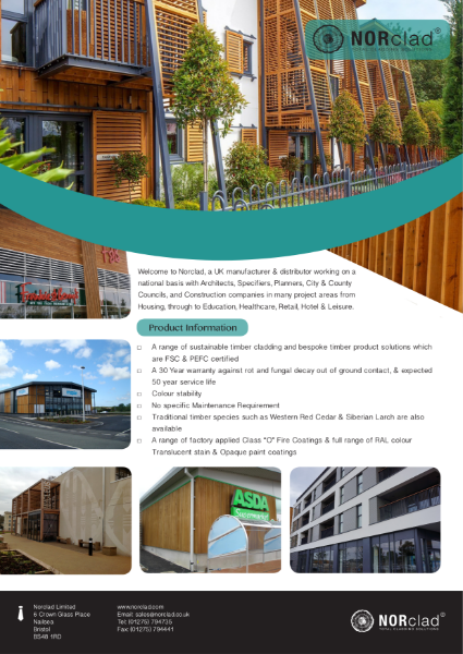 Norclad - Timber Cladding Profiles