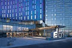 ExCel Exhibition Centre & Aloft Hotel, London