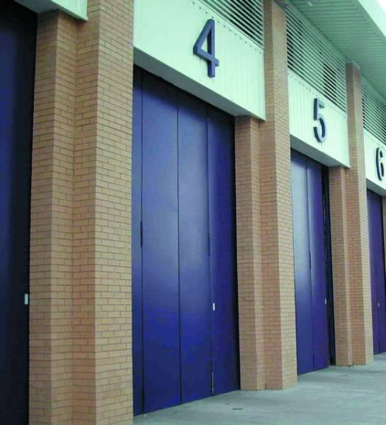 Superfold 4000/ 5000 Top Hung High Security Insulated Folding Doors