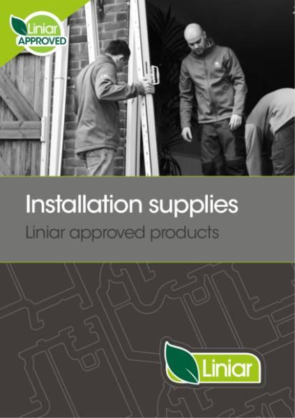 Liniar installation supplies