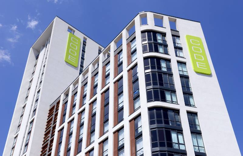 Eurocell passes the test at flagship student residence