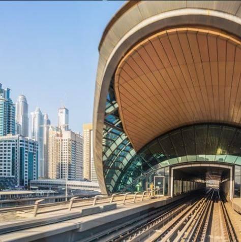 Dubai Metro Station, Dubai