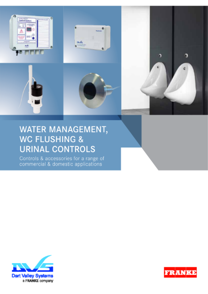 WC and Urinal Flushing Solutions Brochure