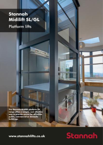 Stannah Midilft Standard Platform Lift