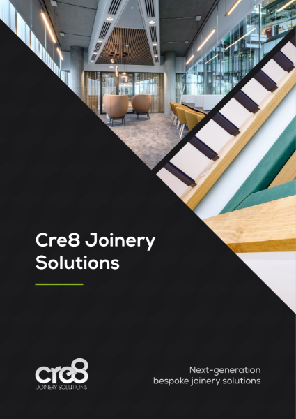 Cre8 Joinery Solutions Corporate Brochure