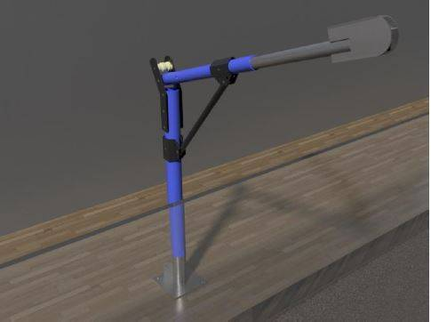 Abseiling Davit Arm System