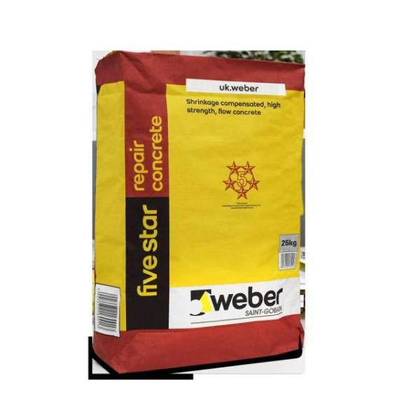 webercem five star repair concrete