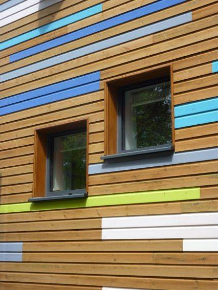 Thermowood Painted Timber Cladding
