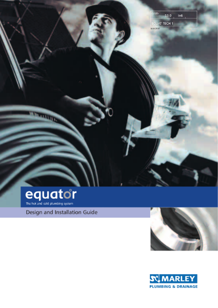 Equator Design & Installation Guide