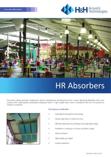 Acoustic HR Absorbers