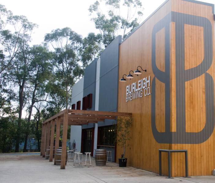 Accoya cladding for the Burleigh brewery.co project