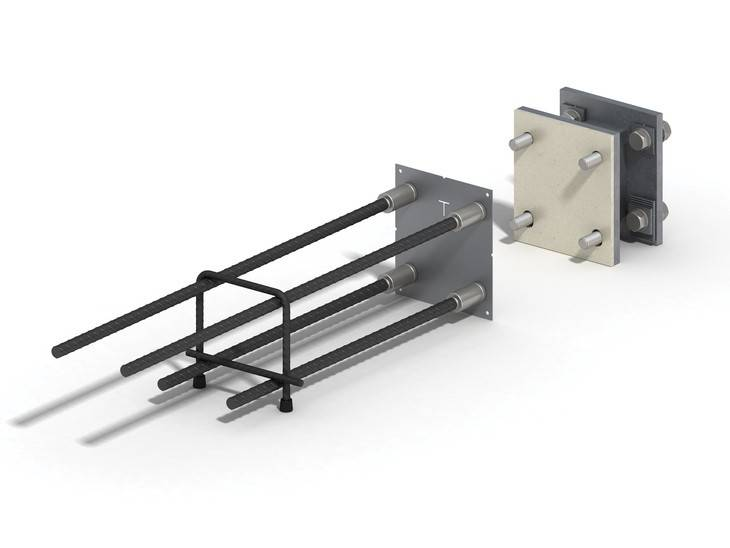 Ancon Steel To Concrete Balcony Connectors
