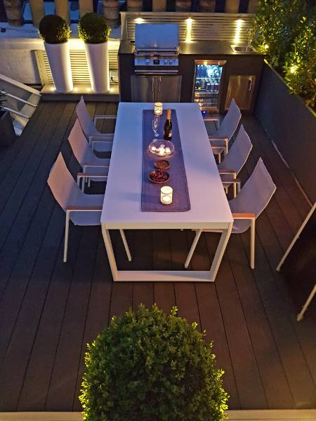MTX creates stunning roof terrace and BBQ area