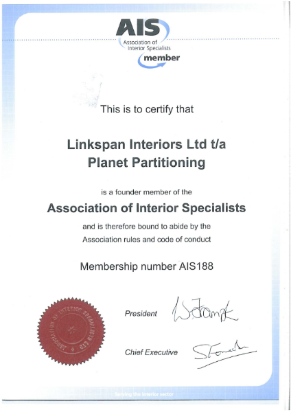 AIS Certificate