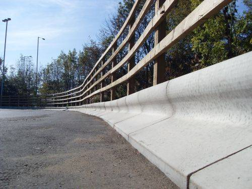 Trief® GST2A Large Taper Kerb - left hand to splay