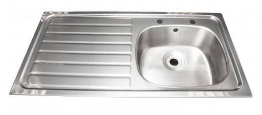 Inset sink -505 x 1015 mm