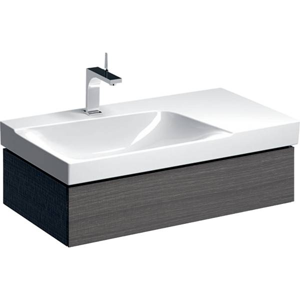 Xeno² cabinet for washbasin with shelf surface, with one drawer