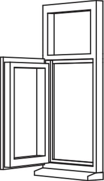 Heritage 2800 Casement - C7 Opener/Fixed