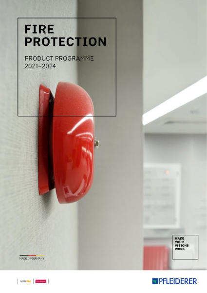 Fire Protection Product Programme 2021 - 2024