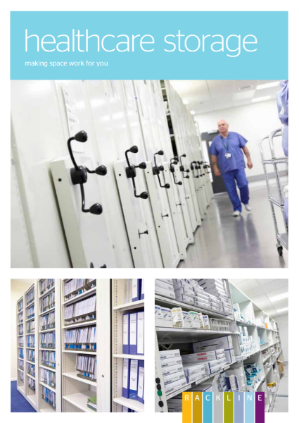 Healthcare Shelving and Storage Brochure - new for 2018