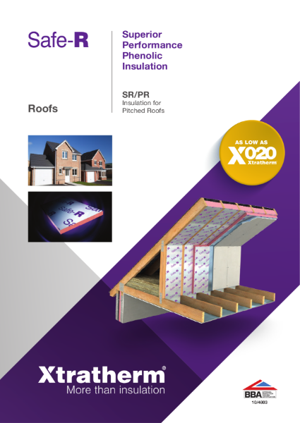 Insulation for Pitched Roofs (SR/PR)