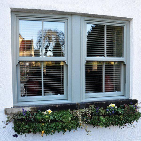 Evolve VS PVC-U Vertical Sliding Windows